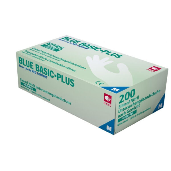 Blue Basic-Plus Nitrile Gloves